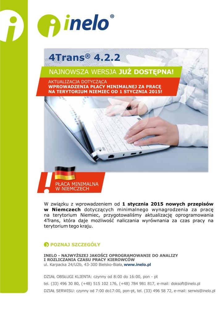 Inelo 4Trans 4.2.2 Najnowsza wersja