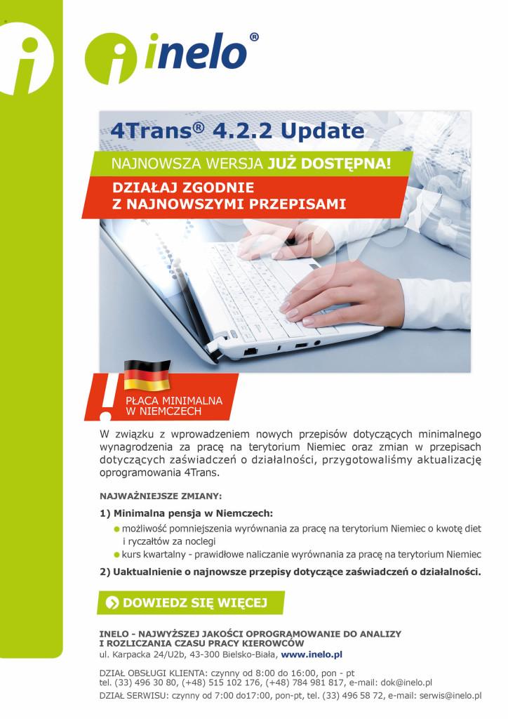 4Trans 4_2_2 update