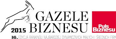 Gazela Biznesu 2015 logo